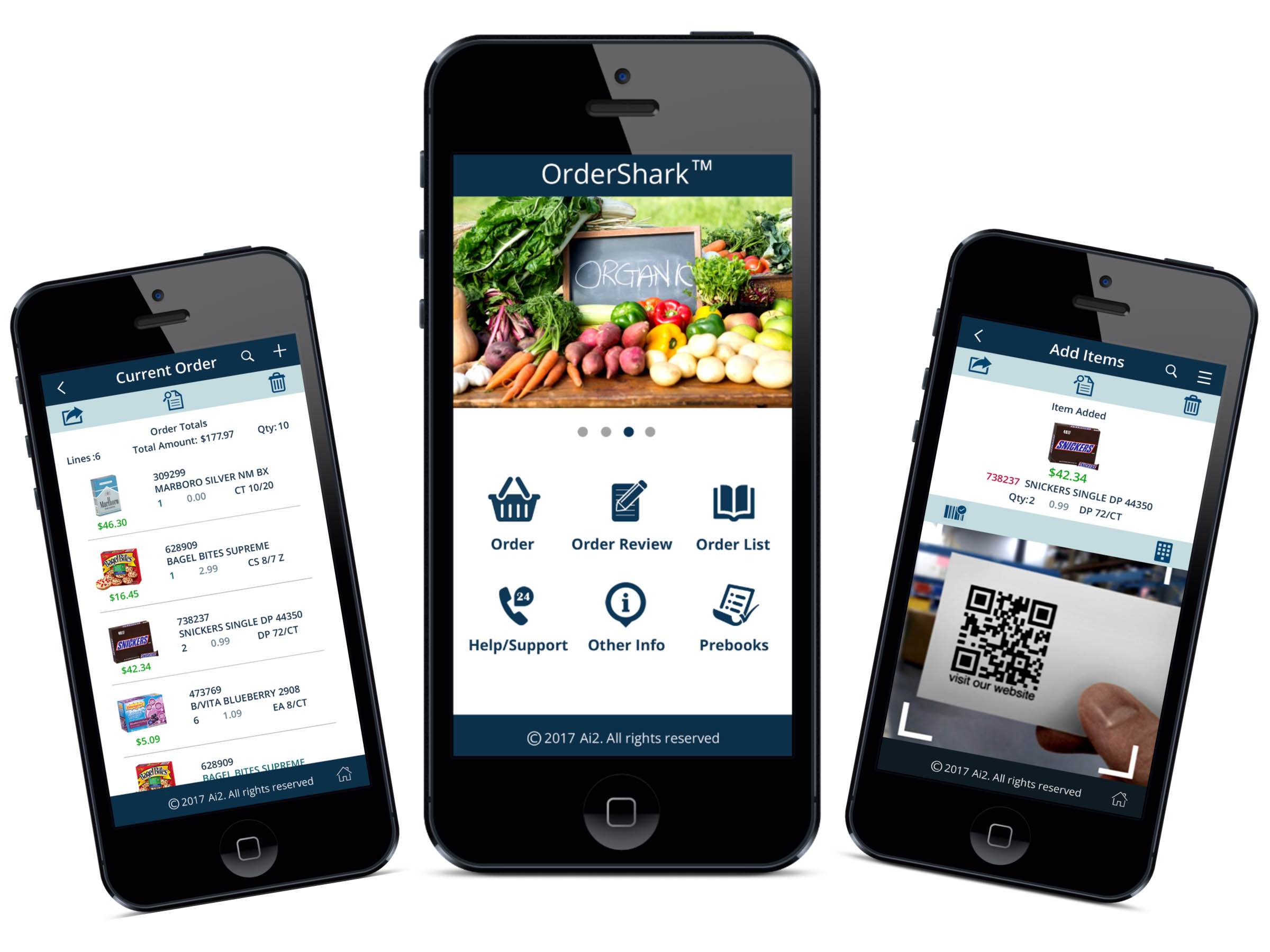 Application for Mobile Ordering