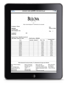 Mobile Sales Order Mangment for iPad