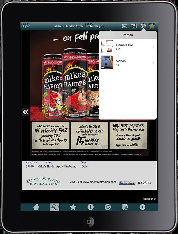 content mangement for iPad