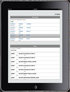 sales rep app for ipad